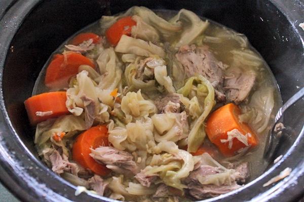 Finished Pork Hock Stew