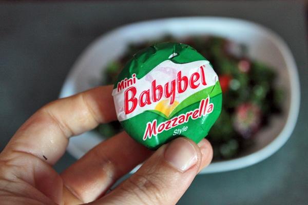 Kale Pizza Salad - Mozzarella
