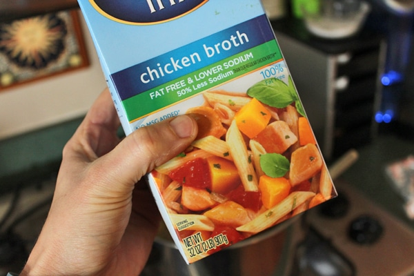 chicken broth carton