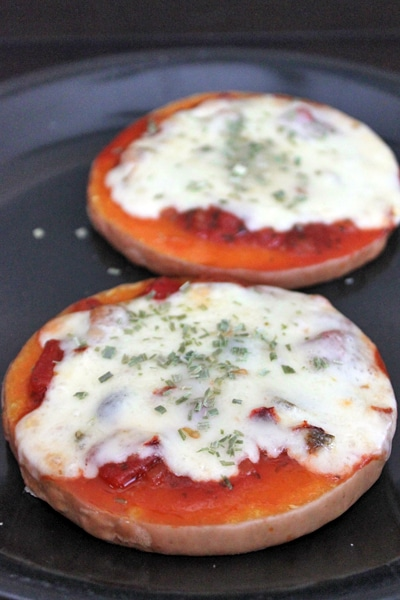 Mexican Pizza on Butternut Squash