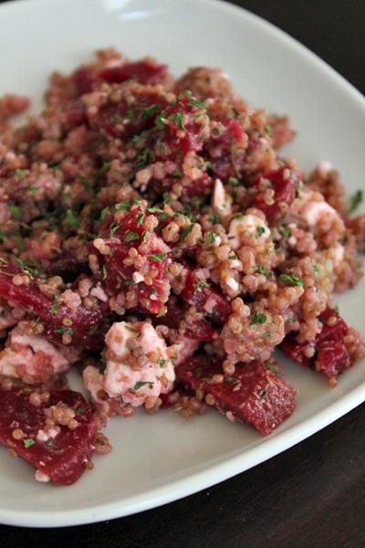 Quinoa, Beet and Feta Salad