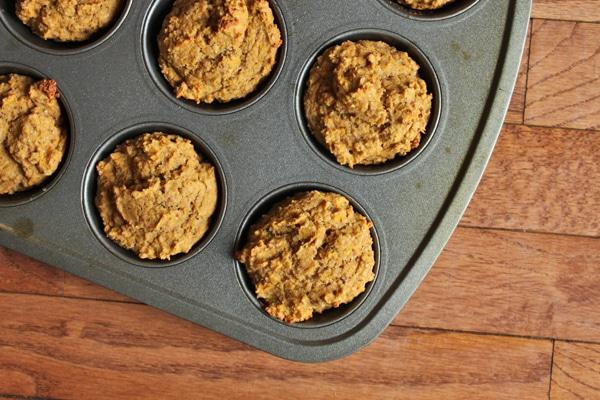 Whole Wheat Butternut Squash Muffins Finished