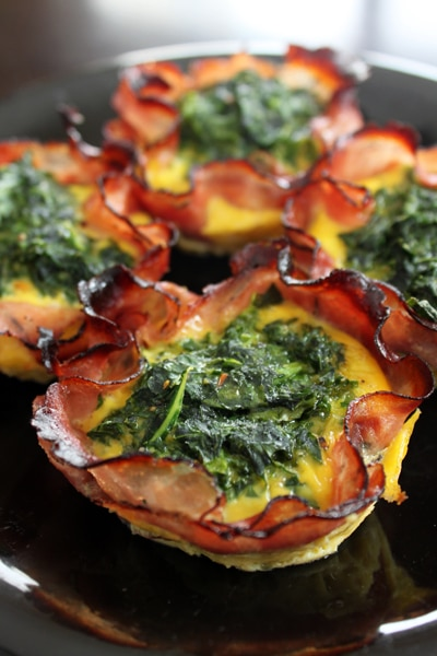 Spicy Kale Egg Muffins