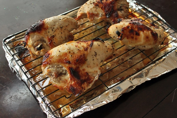 chicken after roasting