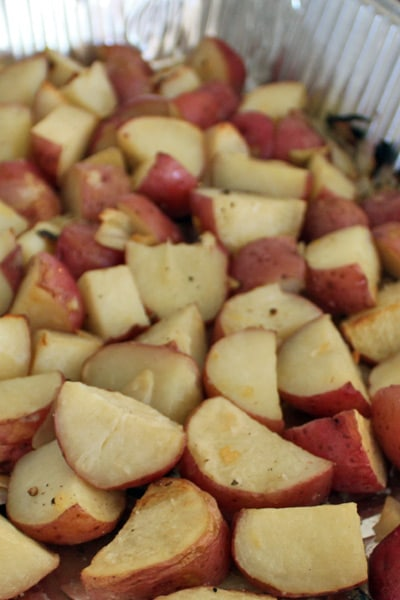 Simply Roasted Red Potatoes