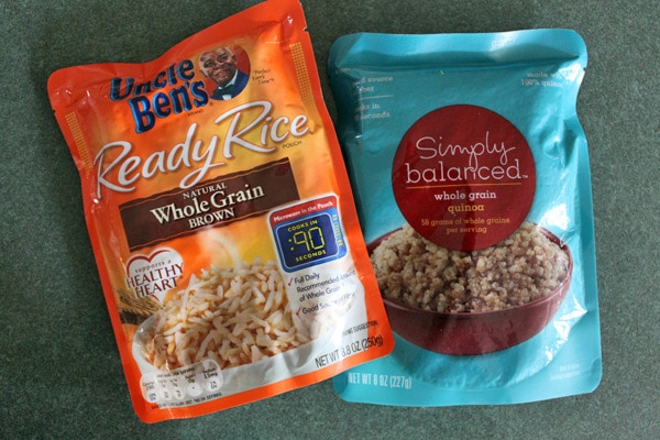 Rice and Quinoa - precooked