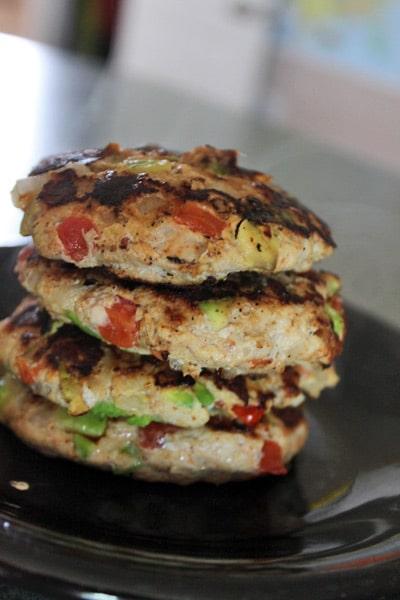 Guac-Turkey Burgers