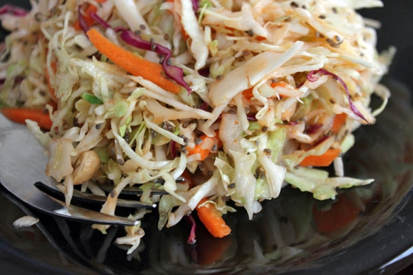 Spicy Slaw Plated