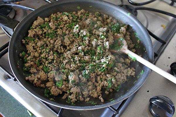 Homemade ground sausage