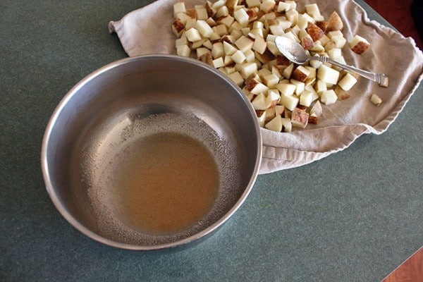 Ryan's Roasted Potatoes - Oil and Spices