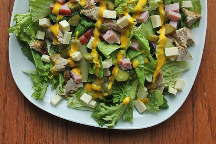 A Cuban Inspired Salad