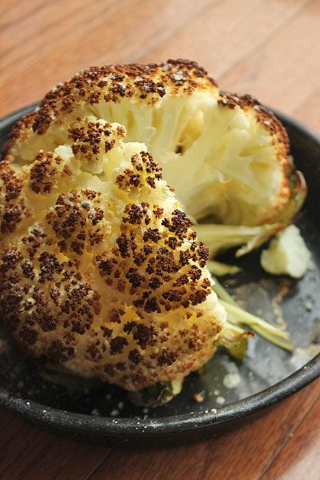 Roasted Cauliflower Head aka The Pufferfish Method