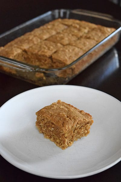 Banana Flax Breakfast Cake