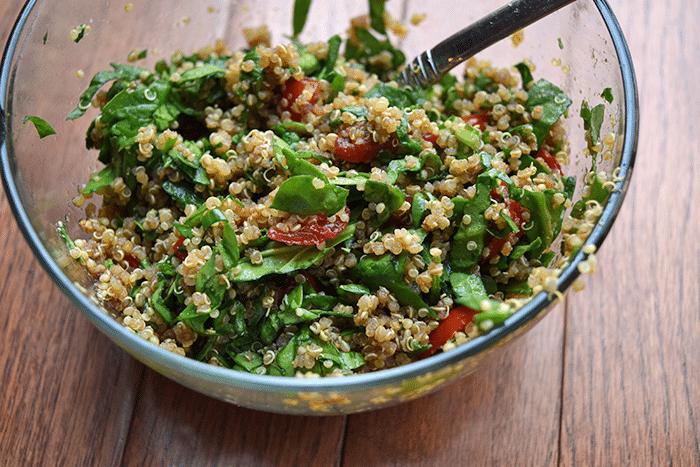 Topping for Quinoa-Topped Portobello