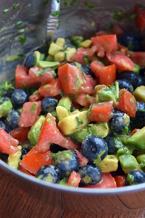 Fresh Blueberry Avocado Salsa