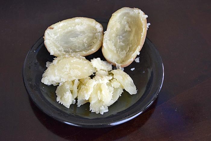 Cooked Potato - 4-ingredient Salsa Stuffed Potato
