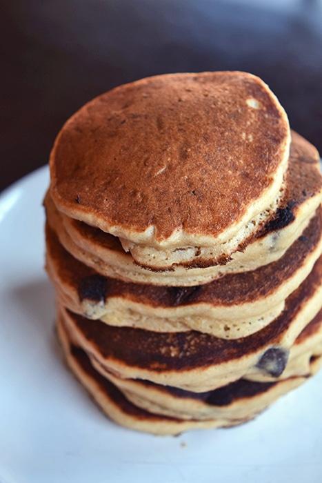 Egg-Less Whole Wheat Pancakes