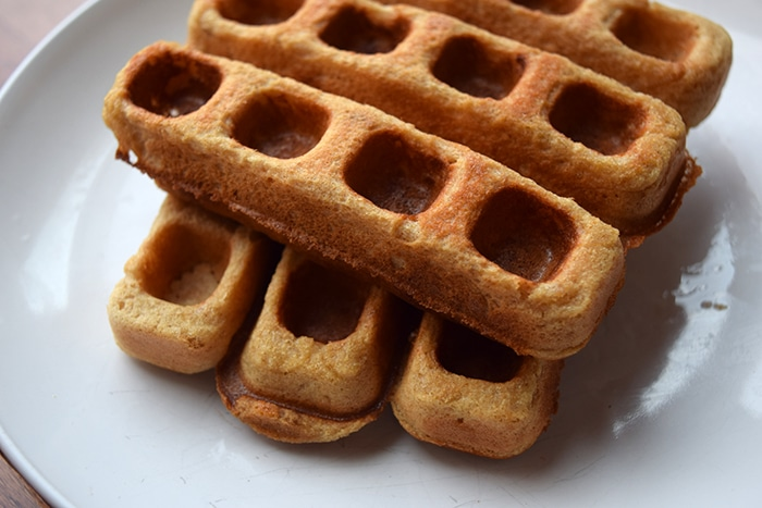 Egg-Less Whole Wheat Waffles