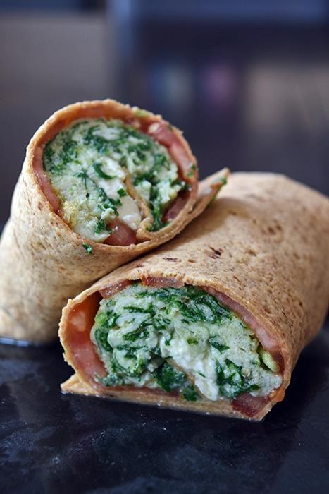 Spinach Feta Wraps