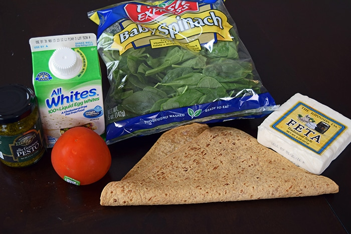 Spinach Feta Wrap Ingredients