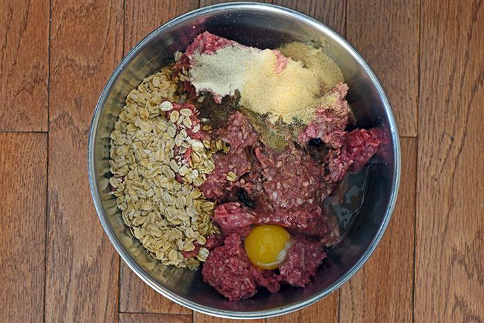 salsbury steak ingredients