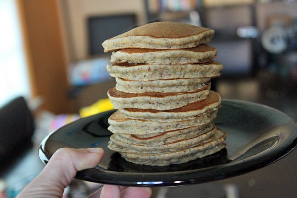Healthy Pancakes - Stack