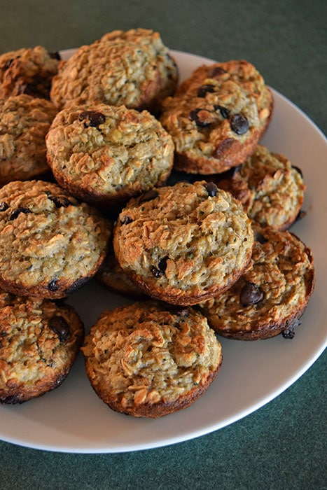 Updated Banana Oat Cups with Flax and Hemp Hearts
