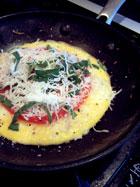 Egg Pizza step 2
