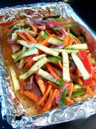 Mahi Mahi with Fresh Veggies and Quinoa 3