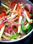 fresh veggie & dill salad