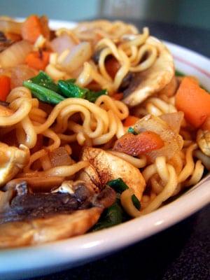 Quick Ramen Noodles Lunch – Take II