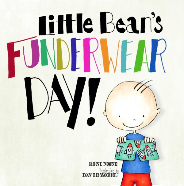 Little Bean's Funderwear Day