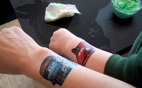 St. Patty's Day 'Yelatin' Treat - Tattoos