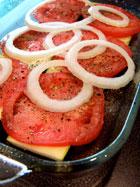 Summer Veggie Bake layer 1