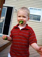 Veggie Kabobs Ryan with broccoli