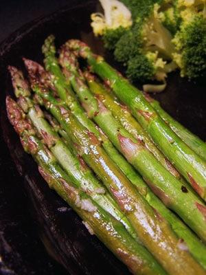 Garlic Honey Asparagus