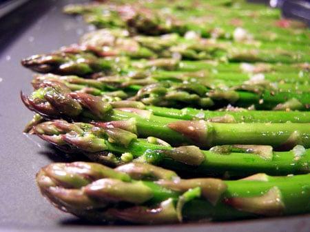 Garlic Honey Asparagus raw