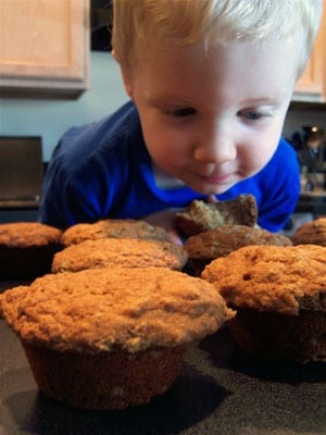 Ryan with Muffins 1
