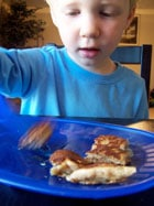 Whole Grain Banana Pancakes Ryan 1
