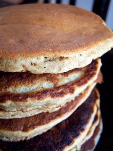 Whole Grain Banana Pancakes more