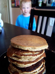 Whole Grain Banana Pancakes even more