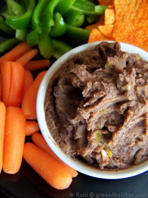 Sweet & Spicy Black Bean Dip