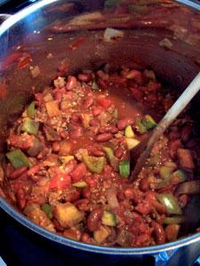 Garden Chili in pot