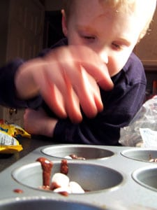 Gooey Surprise Deep Double Chocolate Muffins – Ryan prepping