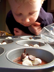 Gooey Surprise Deep Double Chocolate Muffins – Ryan Prepping 2