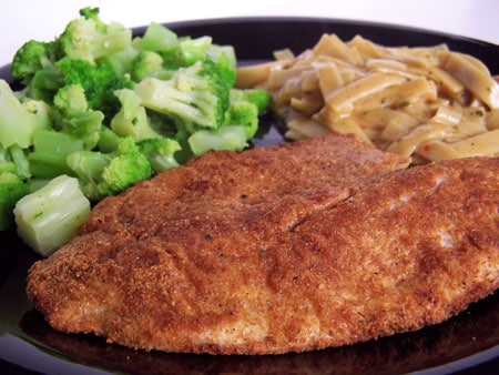 Crispy Baked Parmesan Crusted Tilapia 2