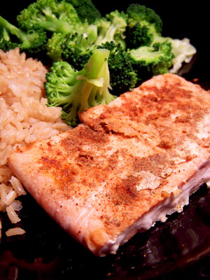 Simple Salmon with Roni's Quick Fish Spice