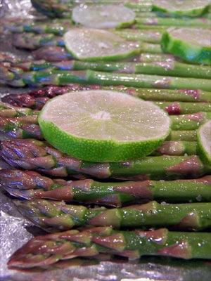 Roasted Margarita Asparagus