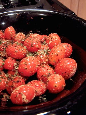 Simply Roasted Cherry Tomatoes