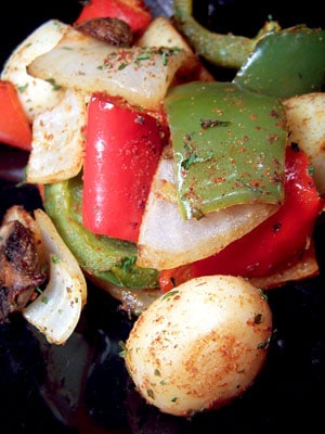 Roasted Peppers and Potatoes